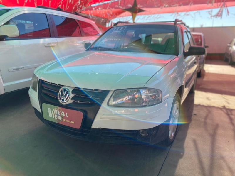 VOLKSWAGEN PARATI 1.8 MI PLUS 8V FLEX 4P MANUAL G.IV