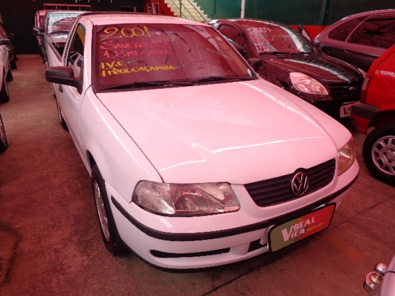 VOLKSWAGEN SAVEIRO 1.8 MI CS 8V GASOLINA 2P MANUAL G.III