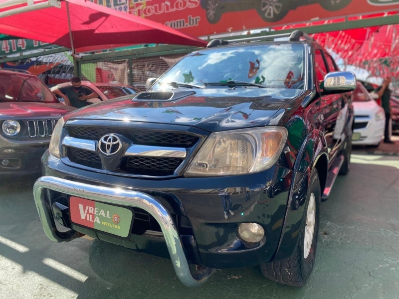 TOYOTA HILUX 3.0 SRV 4X4 CD 16V TURBO INTERCOOLER DIESEL 4P MANUAL
