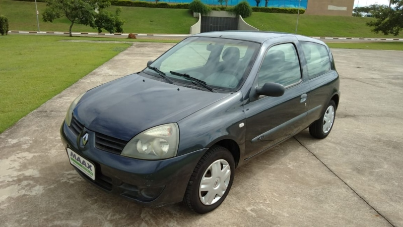 RENAULT CLIO 1.0 AUTHENTIQUE 16V HI-FLEX 2P MANUAL