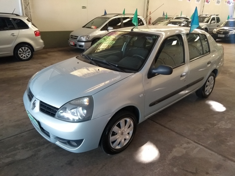 RENAULT CLIO SEDAN EXPRESSION 1.6 16V(HI-FLEX)