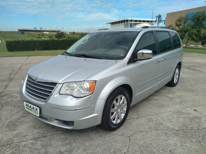 CHRYSLER TOWN & COUNTRY 3.8 LIMITED V6 12V GASOLINA 4P AUTOMATICO