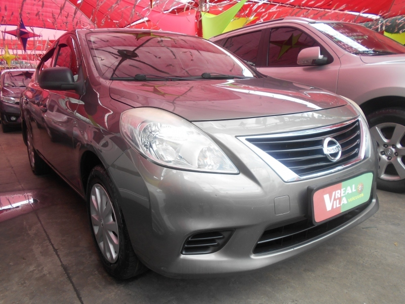 NISSAN VERSA 1.6 16V FLEX S 4P MANUAL