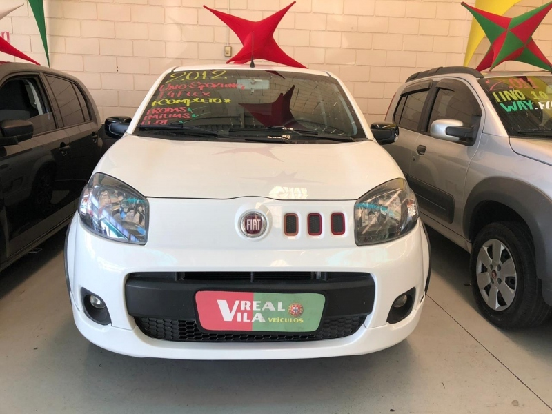 FIAT UNO 1.4 SPORTING 8V FLEX 2P MANUAL