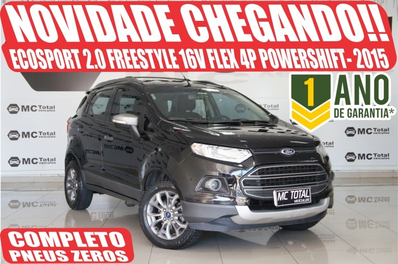 ECOSPORT2.0 FREESTYLE 16V FLEX 4P POWERSHIFT