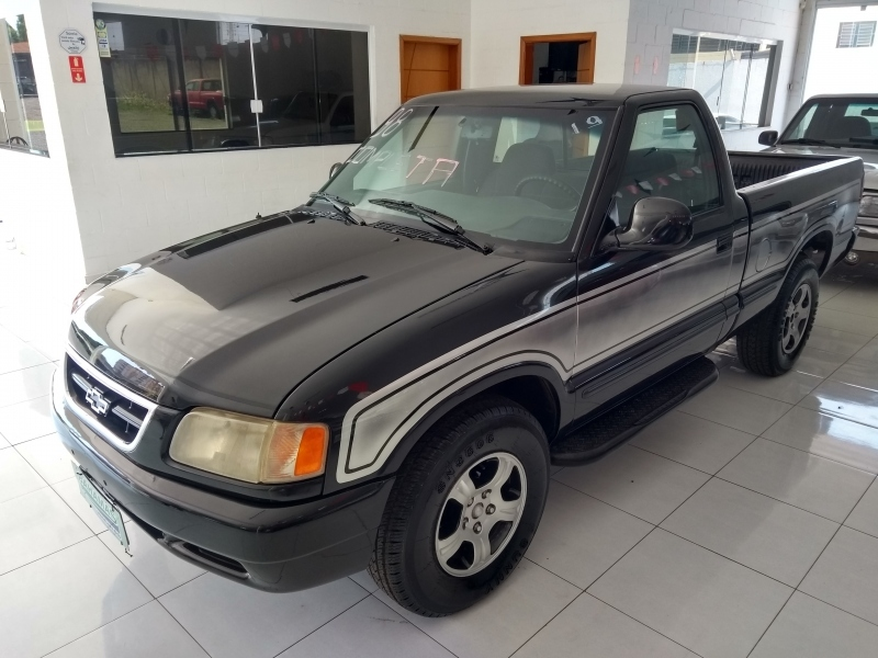 CHEVROLET S10 4.3 SFI DLX 4X2 CD V6 12V GASOLINA 4P MANUAL