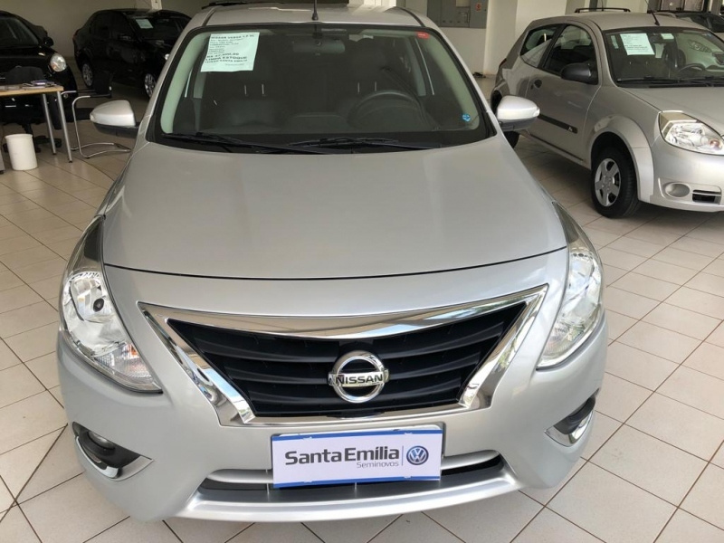 NISSAN VERSA 1.6 16V FLEX SL 4P MANUAL
