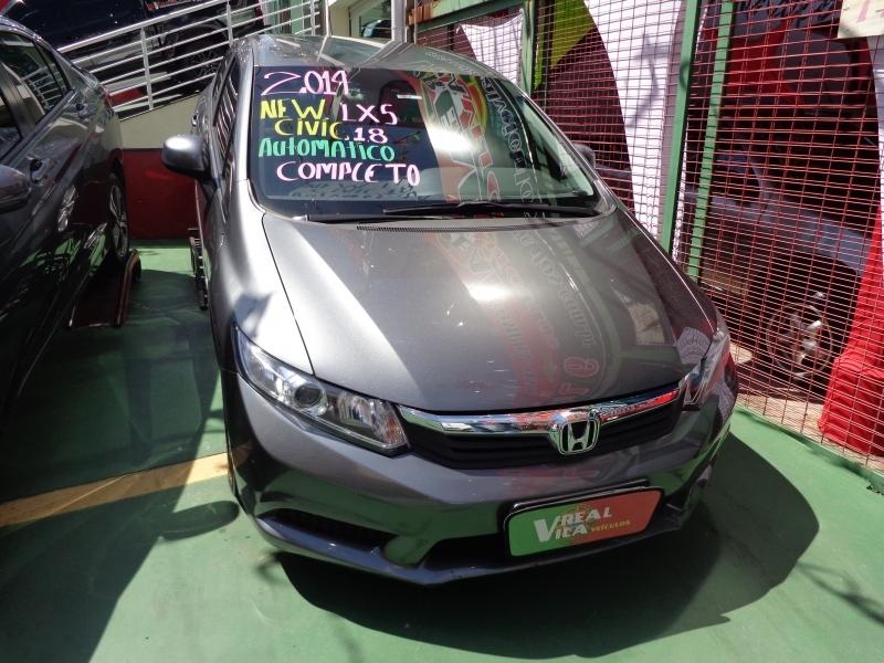 HONDA CIVIC 1.8 LXS 16V FLEX 4P AUTOMATICO
