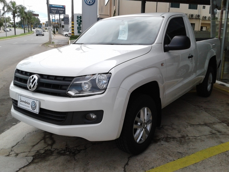 VOLKSWAGEN AMAROK 2.0 S 4X4 CS 16V TURBO INTERCOOLER DIESEL 2P MANUAL