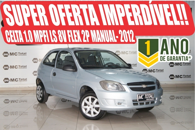 CELTA1.0 MPFI LS 8V FLEX 2P MANUAL