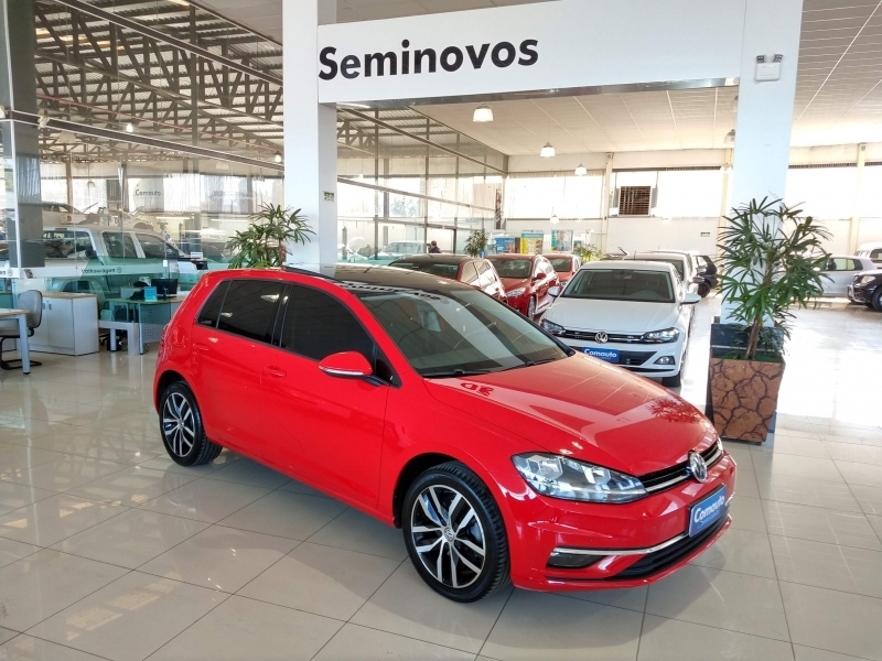 GOLF 1.0 200 TSI TOTAL FLEX COMFORTLINE TIPTRONIC cheio
