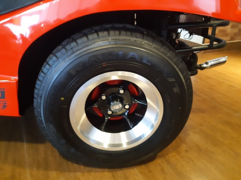 FIBRAVAN BUGGY PLUS 1.6 4LUG.