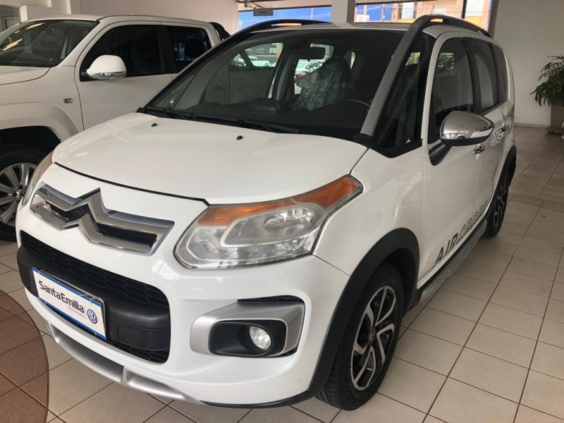 CITROEN AIRCROSS 1.6 EXCLUSIVE 16V FLEX 4P AUTOMATICO