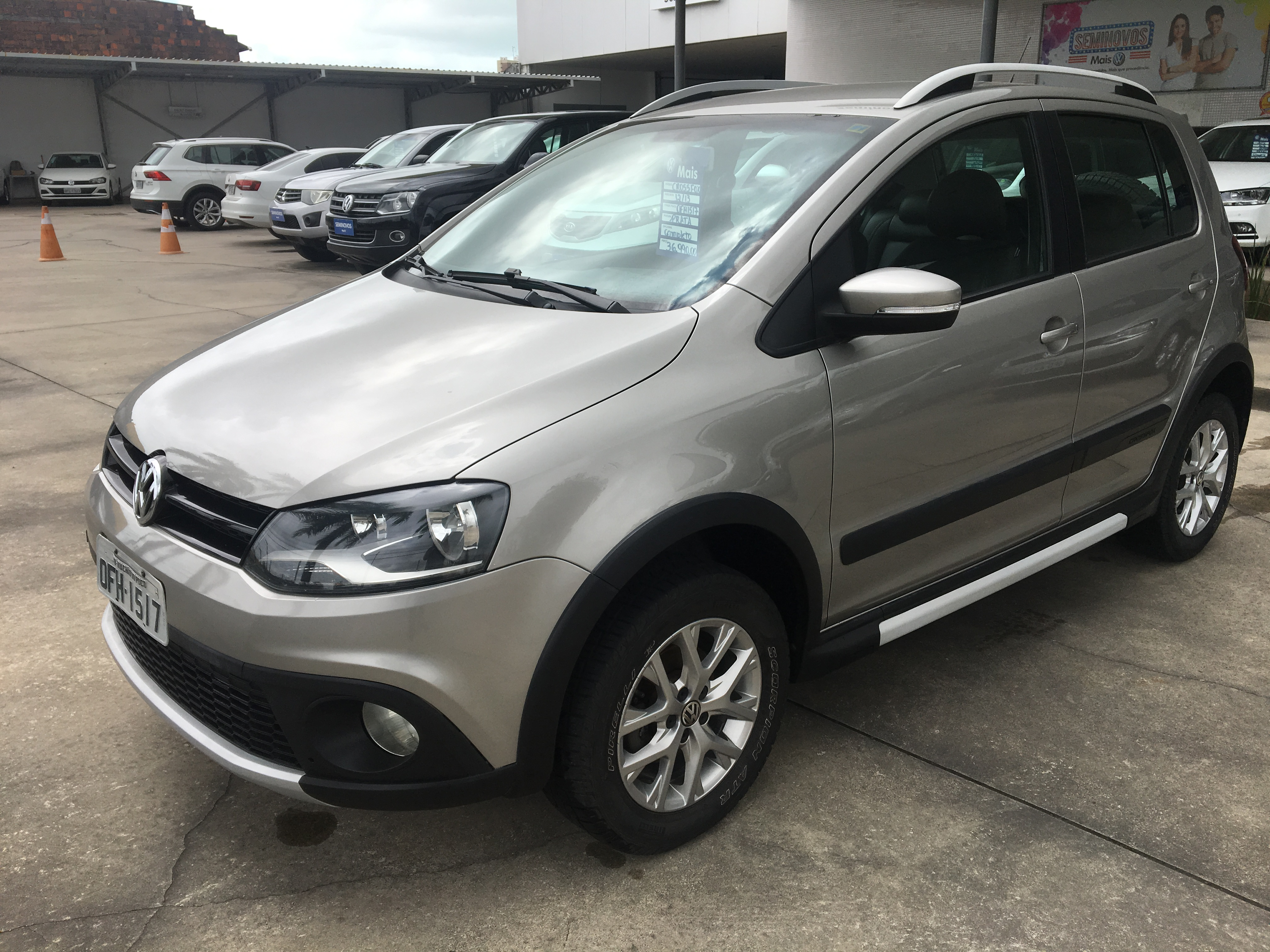 VOLKSWAGEN CROSSFOX 1.6 MI FLEX 8V 4P MANUAL