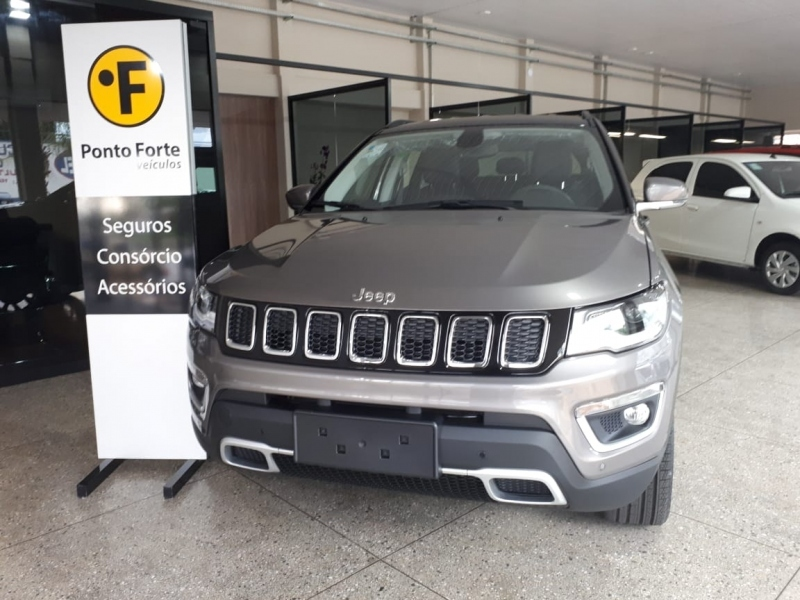 Jeep Compass 2 0 16v Diesel Limited 4x4 Automatico Ponto Forte